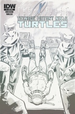 X-FILES CONSPIRACY TMNT #1 SUB VARIANT
