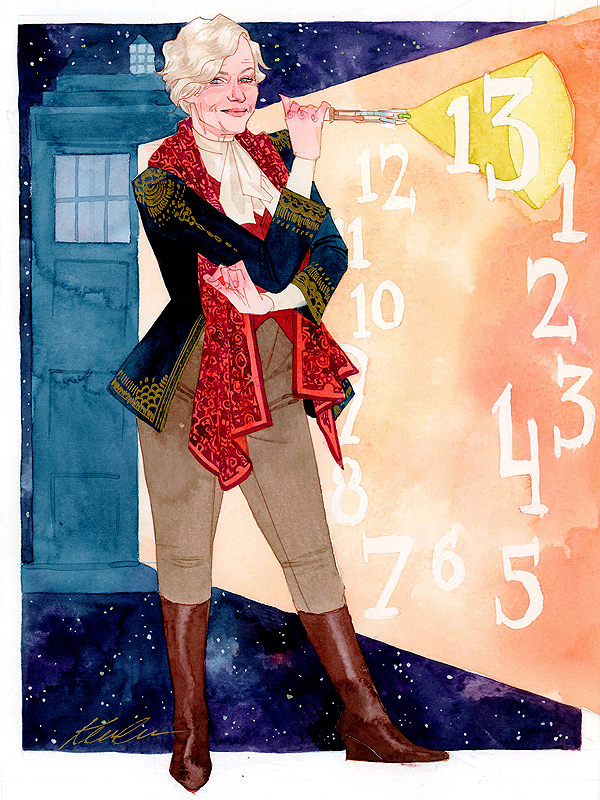 13th Doctor by Kevin Wada