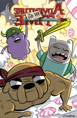 ADVENTURE TIME THE FLIP SIDE #4 COVER A