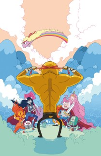 ADVENTURE TIME THE FLIP SIDE #4 COVER D