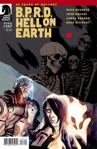 B.P.R.D. HELL ON EARTH #117 HARREN COVER