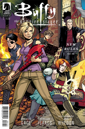 Buffy The Vampire Slayer Season 10 #1 Isaacs Cover