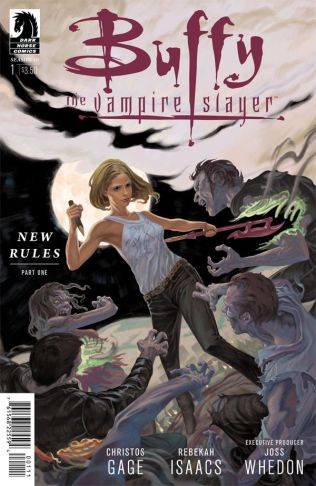 BUFFY THE VAMPIRE SLAYER SEASON 10 #1 MORRIS COVER