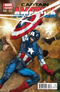 CAPTAIN AMERICA #18 VARIANT A