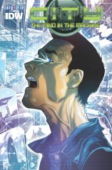 CITY THE MIND IN THE MACHINE #2 SUB VARIANT