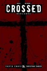 CROSSED BADLANDS #50 RED CROSSED COVER