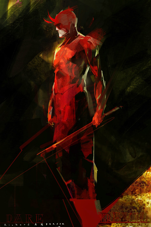 Daredevil by Rich Anderson