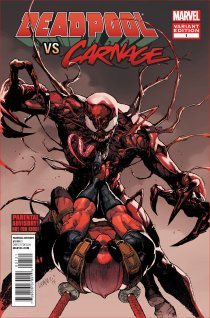 DEADPOOL VS CARNAGE #1 VARIANT