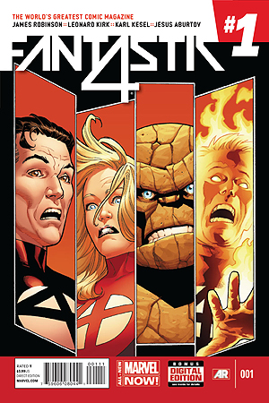 Fantastic Four #1 CR