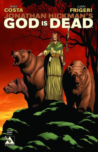 GOD IS DEAD #8 ICONIC COVER