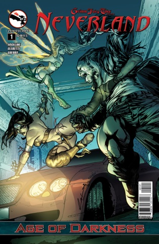 GRIMM FAIRY TALES NEVERLAND AGE OF DARKNESS #1 COVER B