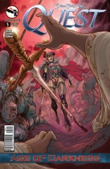 GRIMM FAIRY TALES QUEST #5 COVER A