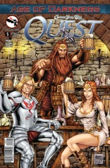 GRIMM FAIRY TALES QUEST #5 COVER B