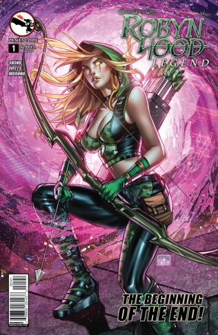 GRIMM FAIRY TALES ROBYN HOOD LEGEND #1 COVER D