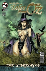 GRIMM FAIRY TALES TALES FROM OZ #3 COVER A