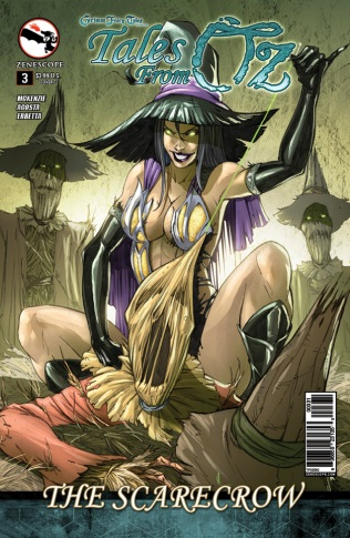 GRIMM FAIRY TALES TALES FROM OZ #3 COVER C