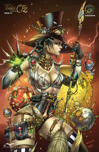 GRIMM FAIRY TALES TALES FROM OZ #3 COVER D