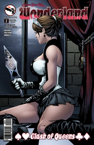 GRIMM FAIRY TALES WONDERLAND CLASH OF QUEENS #2 COVER C