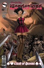 GRIMM FAIRY TALES WONDERLAND CLASH OF QUEENS #2 COVER D