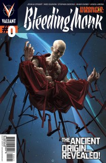 HARBINGER BLEEDING MONK #0 VARIANT A
