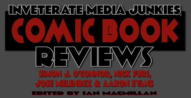 IMJ Comic Book Reviews Banner