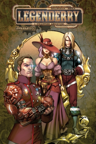 LEGENDERRY A STEAMPUNK ADVENTURE #3 BENITEZ COVER