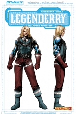 LEGENDERRY A STEAMPUNK ADVENTURE #3 CONCEPT A COVER