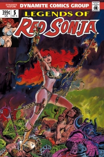 LEGENDS OF RED SONJA #5 SUB COVER