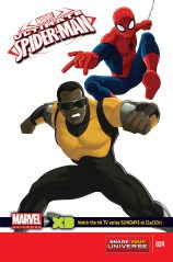 MARVEL UNIVERSE ULTIMATE SPIDER-MAN #24