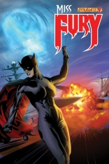 MISS FURY #9 CALERO COVER