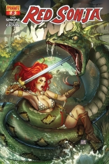 RED SONJA #8 RUFFINO COVER