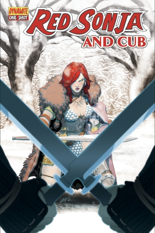 RED SONJA AND CUB ONE-SHOT