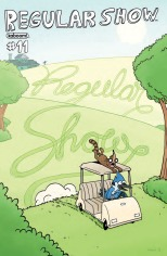 REGULAR SHOW #11 COVER A