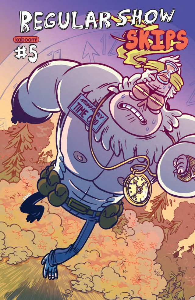 Regular Show Skips #5 Cover A