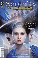 SERENITY LEAVES ON THE WIND #3 DOS SANTOS COVER