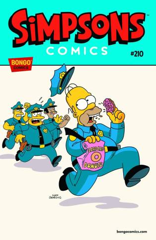 SIMPSONS COMICS #210