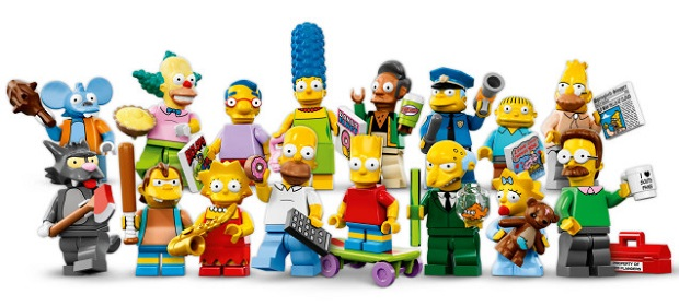 Simpsons Legos