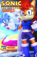 SONIC THE HEDGEHOG #258 VARIANT
