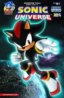 SONIC UNIVERSE #61 VARIANT