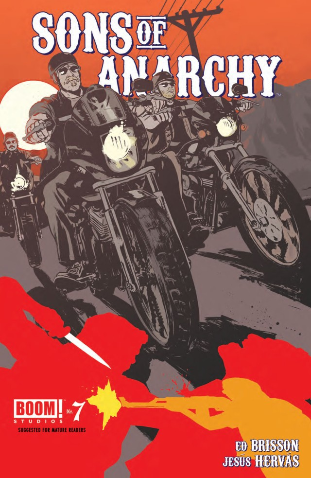 Sons of Anarchy #7 Cover