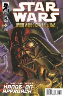 STAR WARS DARTH VADER AND THE CRY OF SHADOWS #4