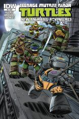 TEENAGE MUTANT NINJA TURTLES NEW ANIMATED ADVENTURES #9