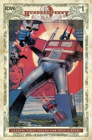 TRANSFORMERS #1 (1984) ONE HUNDRED PENNY PRESS