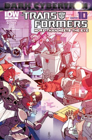 TRANSFORMERS MORE THAN MEETS THE EYE #27