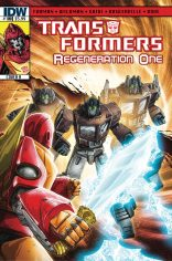 TRANSFORMERS REGENERATION ONE #100 COVER A
