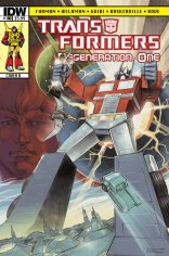 TRANSFORMERS REGENERATION ONE #100 COVER B