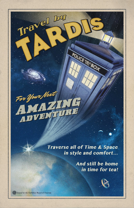 Travel by Tardis by Joshua Graham