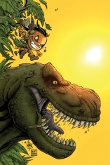 TUROK DINOSAUR HUNTER #3 HAESER COVER