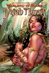 WARLORD OF MARS DEJAH THORIS #37 ANACLETO COVER