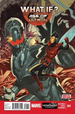 WHAT IF AGE OF ULTRON #1